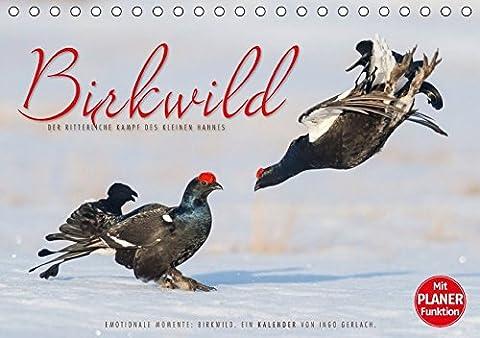 Emotionale Momente: Birkwild (Tischkalender 2018 DIN A5 quer): Die Balz des kleinen Hahnes – atemberaubende Bilder der kleinen schwarzen Ritter. ... [Kalender] [Apr 01, 2017] Gerlach, Ingo