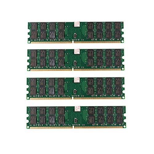 Tutoy 4 Pcs 4 Gb Ddr2 800 Mhz Pc2-6400 240 Pins Desktop Pc Memory Amd Motherboard -