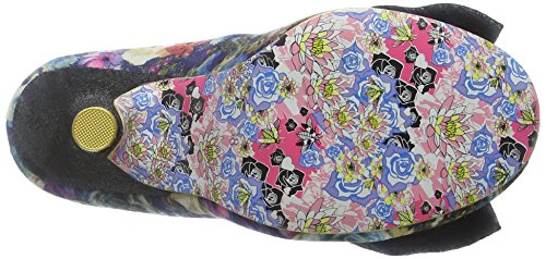 Irregular Choice Mal E Bow, Escarpins femme Bleu - Blue (Blue Floral)