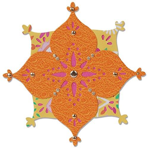 Sizzix Flower/Arabesque Sizzlits Stanze Arabesque Flower