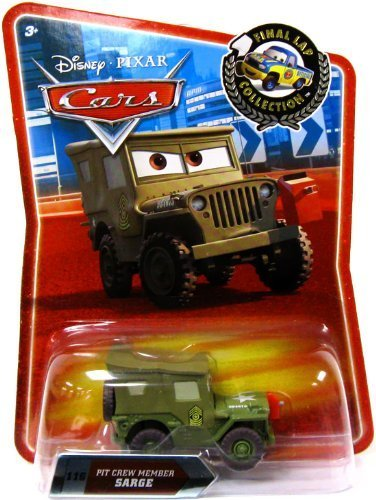 Disney / Pixar CARS Exclusive 155 Die Cast Car Final Lap Series Pit Crew Member Sarge by mattel (English Manual)