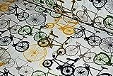 Premium 100% Baumwolle Polsterstoff Canvas Stoff Fahrrad
