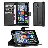 Cadorabo Étui de Protection pour Nokia Lumia 640 avec Compartiment pour Cartes et...