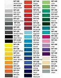 30 Plotterfolien für T-Shirts und Aufkleber Mix Plotter Klebefolie, Shiluette Hobbyplotter Starter