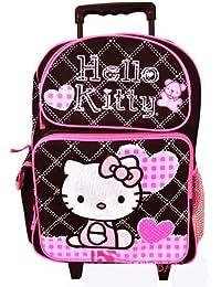 Sanrio Hello Kitty mochila con ruedas