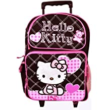 Trolley cartable a roulettes HELLO KITTY 40cm x 30cm