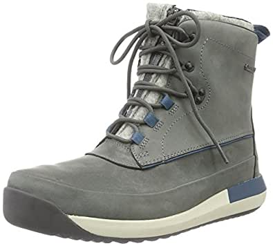 Clarks Men's Johto Rise Gtx Ankle Boots, Grey (Grey Warm Lined Nubuck), 6.5 UK
