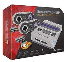 SupaRetoN HD - Console Retro gaming pour Cartouches Nintendo Super NES