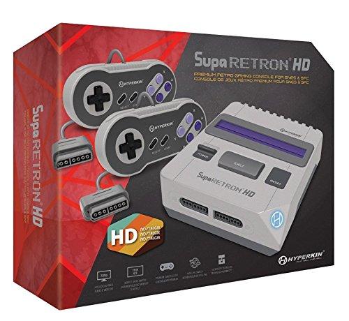 Hyperkin Konsol Supa Retron HD Spielt SNES- und SFC-Kassetten (elektronische Spiele)