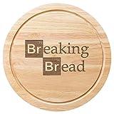 25cm Holz Brot Board Breaking Bad Wortspiel Design
