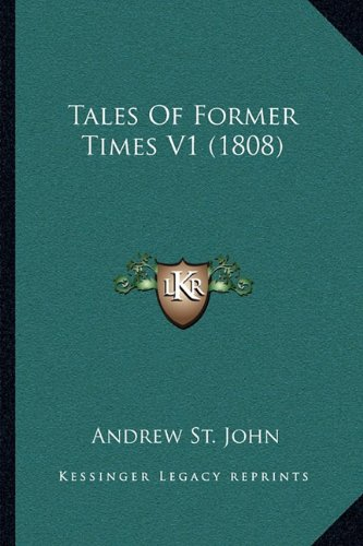 Tales of Former Times V1 (1808)