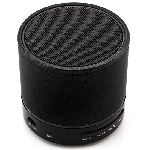 Saxonia Mini Portable Bluetooth Lautsprecher Tragbarer Wireless Speaker Schwarz Htc Desire 510 Handy-speicherkarte