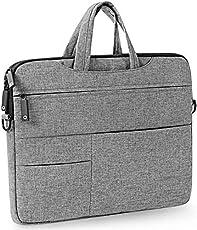 ICEBERG MAKERS.IN Waterproof Velvet 13-15.6-inch Grey Laptop Sleeve Bag