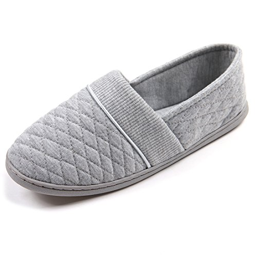 chicnchic-women-cotton-anti-slip-sole-indoor-outdoor-slippers-size-grey-5uk