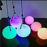 QIZIANG LED Globo de Colores Luz de la Noche Ronda Bola de malabarismo Blubs Decoración de la lámpara del Banquete de Boda Hot