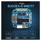Dinglong iFlight SucceX-D Mini F7 TwinG Contrôleur de Vol pour DJI Air Unit FPV Système,Drone Accessoires de Haute Qualité
