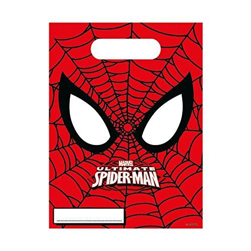 Marvel mit Reh Ultimate Spider-Man Party Dekoration Taschen, 6