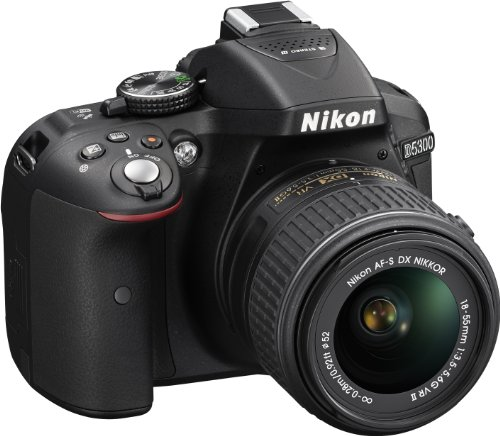 Nikon D5300 SLR-Digitalkamera (24 - 3