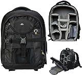 Case4Life Pro Range SLR DSLR Backpack Bag with Tripod Holder + Rain Cover for Nikon SLR D3100, D3200, D3300, D4, D40, D5100, D5200, D5300, D610, D700, D7100, D800 - Lifetime Guarantee