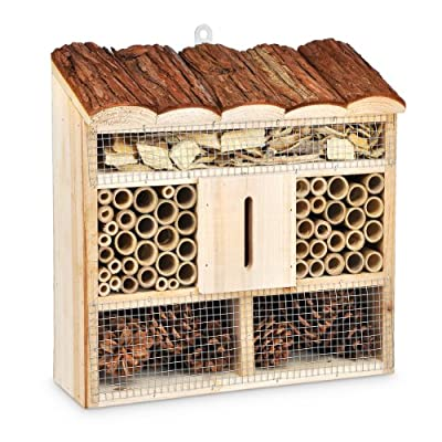 Insektenhotel 30 x 30 x 9,5 cm von Relaxdays bei Du und dein Garten