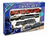 Retro Classic Large Toy Train Set With Train