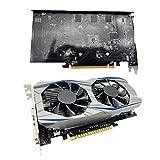 scheda grafica 1050,scheda grafica GTX1050 Ti 4GBTipo di memoria Scheda grafica per giochi desktop DDR5 con doppio ventilatore
