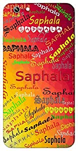 Saphala (successful) Name & Sign Printed All over customize & Personalized!! Protective back cover for your Smart Phone : Samsung Galaxy J2 ( 2016 Edition )
