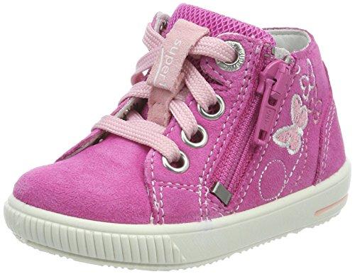 Superfit Baby Mädchen Moppy Sneaker, Pink Kombi, 25 EU