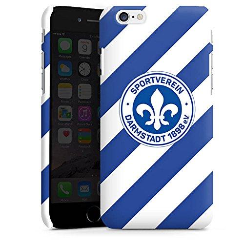 Apple iPhone X Silikon Hülle Case Schutzhülle Bundesliga Fußball Darmstadt98 Premium Case matt