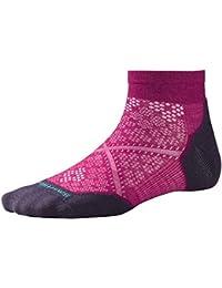 Smartwool Damen PHD Run Light Elite Socken, kurz, Hellgrau/Capri