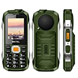 MKTEL Super power mobile phone,Large speaker smart phone Green