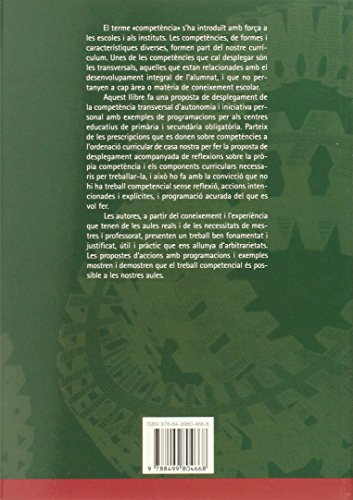 La competència d'autonomia i iniciativa personal: 186 (Biblioteca De Guix)