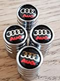 Speed Demons® AUDI CHROM DELUXE AUTO REIFEN DUST Ventilkappe EXKLUSIV FÜR US-A1 A3 A4 A5 A6 A7 A8 Q3 Q5 Q7 R8 TT RS E-TRON S LINE RS4 RS5 RS6