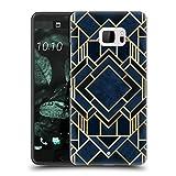 Ufficiale Elisabeth Fredriksson Art Deco Bel Blu Design E Pattern Geometrici Cover Retro Rigida per HTC U Ultra/Ocean Note