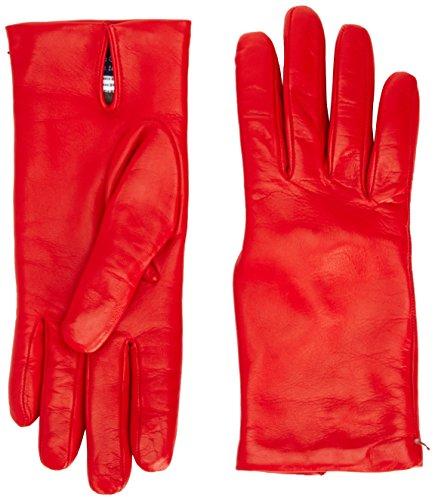 Gala Gloves Italian Leather Perforated Lined - Gants - uni - Col chemise classique - Femme Jaune - Jaune
