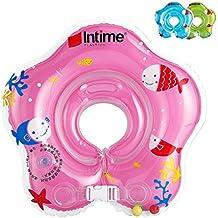 Ibanana - Flotador ajustable inflable para bebé de 1 a ...