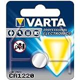 Varta 13501122 - Lithium Knopfzelle (CR 1220, 1er Pack)
