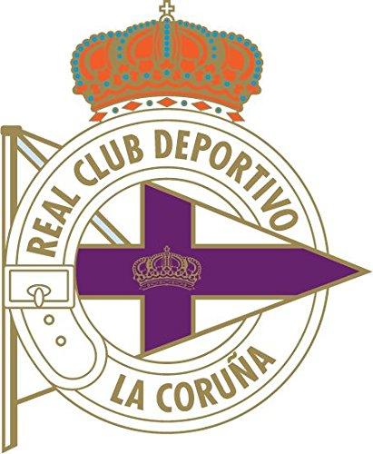 RC Deportivo La Coruna Spain Soccer Football Alta Calidad De Coche De Parachoques Etiqueta Engomada 10 x 12 cm