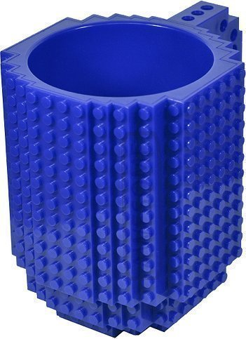 AWESOME Building Brick Mug - Blue by Awesome