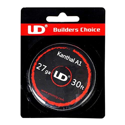 Youde UD Kanthal A1 Draht zum Selbstwickeln von Coils, Circa 9 m Rolle, 0.35 mm Durchmesser (27 awg), 1 Stück (Elektrische Zigarette Rollen)