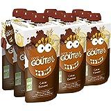 Good Goûter Cacao Banane Bio 3 x 120 g - Lot de 3 (9 Gourdes au Total)