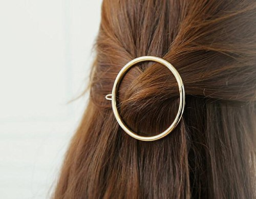 Chronex Combo Pack Of 2 Metal Hair Pins Clips Hair Grip Slide Snap Accessories ( Random Pack Of 2)