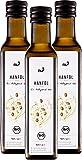 nu3 - Huile de chanvre bio | 3 x 250 ml | Saveur douce et noisettée | Votre source essentielle d�acides gras Oméga-3 | 100% pure et naturelle (cannabis sativa) | Huile pressée à froid