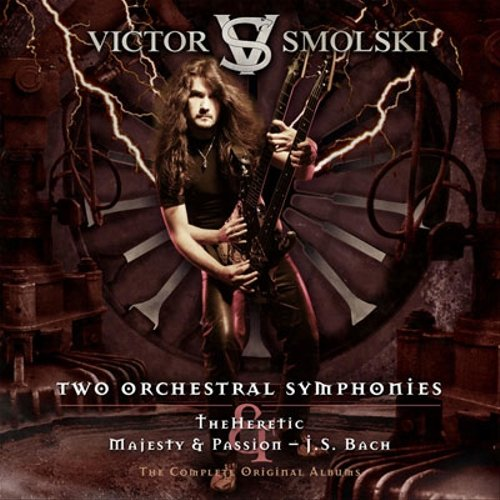 Victor Smolski: Two Orchestral Symphonies-The Heretic & Majesty (Audio CD)