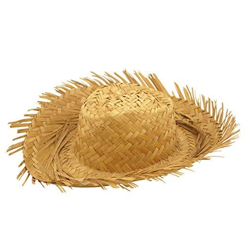 Kostüm Bauer Kid - Beachcomber Strohhut, Erwachsenengröße/ Einheitsgröße