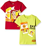 #7: Chhota Bheem Boys' T-Shirt (Pack of 2)
