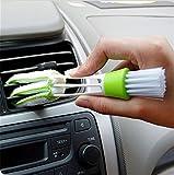 Cepillo con doble cabezal antipolvo para herramientas, rejillas y ordenadores, de Chinget