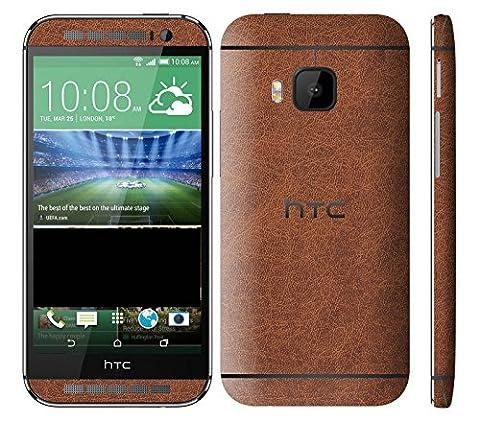 HTC One (M9) Textured Skin Wrap (Havana