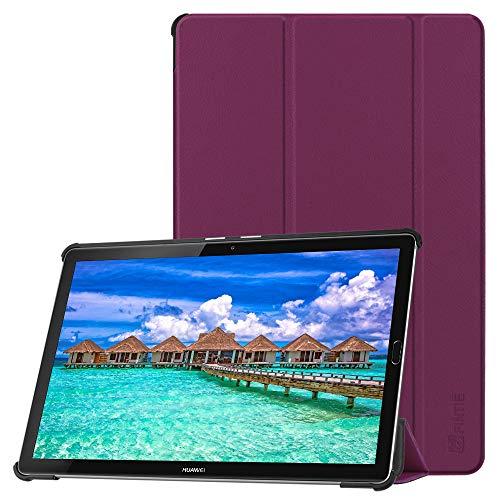 Fintie Hülle Case für Huawei Mediapad M5 10.8/10.8 Pro - Ultra Schlank SlimShell Ständer Schutzhülle mit Auto Sleep/Wake Funktion für Huawei MediaPad M5 27,43 cm (10,8 Zoll), Lila