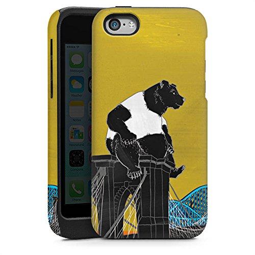 Apple iPhone 6 Housse Étui Silicone Coque Protection Ours Ours Panda Cas Tough brillant